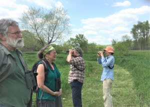 Birders at Nature Nooks